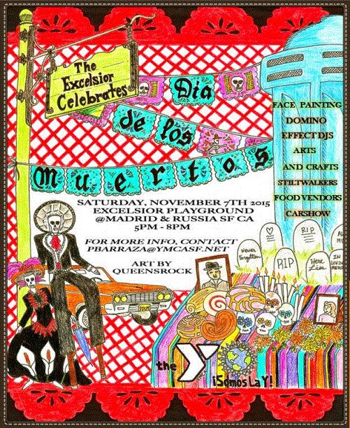 Dia De Los Muertos Excelsior Playground SF 11/7